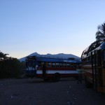 American School Buses in Central America