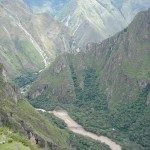 Peruvian Mountain Countryside.
