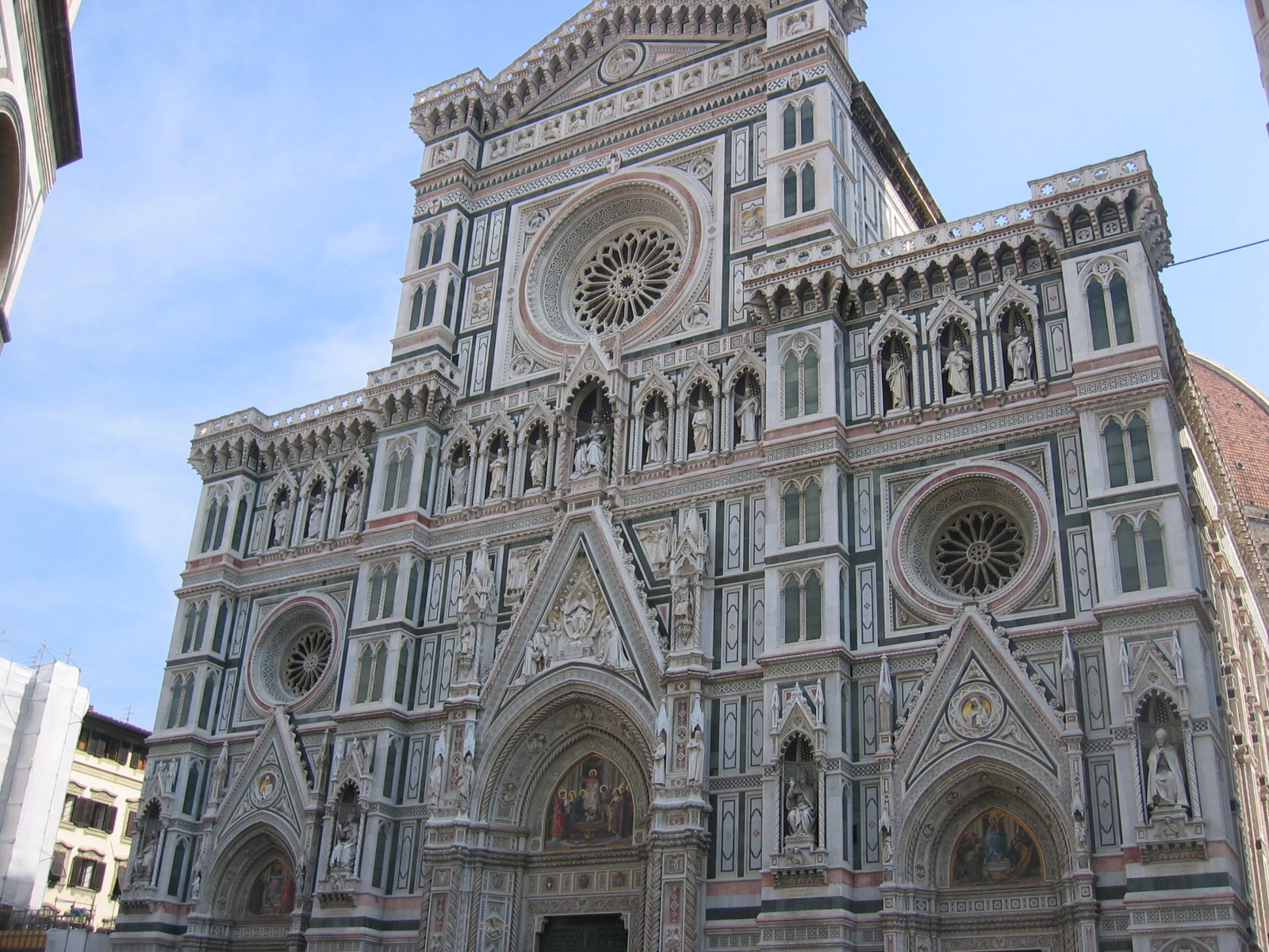 Architecture Of Florence Italy